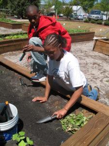 Ability Garden participant