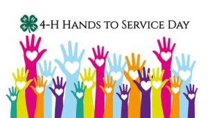 Cover photo for 4-H Hands to Service Day at the Arboretum