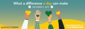 Cover photo for Give Green to Help New Hanover County 4-H With #GivingTuesday