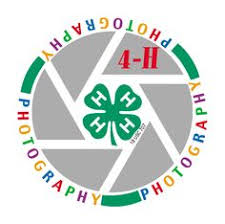 4-H photography logo