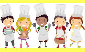 Cartoon drawing of chefs