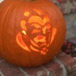 Eeek Man pumpkin