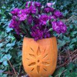Flower Vase Geezer pumpkin