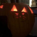 Meows pumpkin