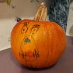 Sally of Nightmare before Christmas pumpkin